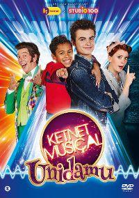 Cover Cast van Unidamu - Ketnet Musical - Unidamu [DVD]
